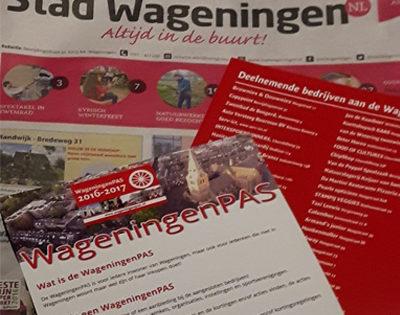 Flyer WageningenPAS