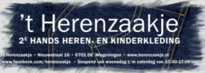 't Herenzaakje Wageningen tweedehands heren en kinderkleding